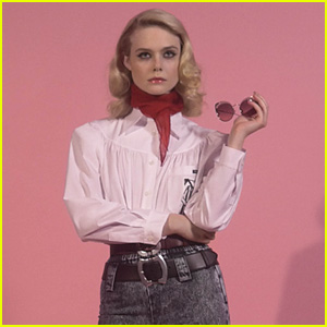 Elle Fanning Goes Retro in Miu Miu's New Campaign