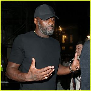 Idris Elba Enjoys Night Out with Fiancee Sabrina Dhowre