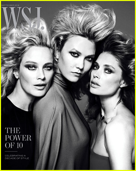 Karlie Kloss, Carolyn Murphy, Doutzen Kroes & More Top Models Pose for 'WSJ Magazine' 10th Anniversary Issue!