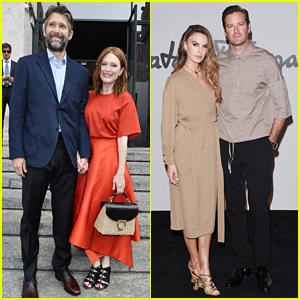 Julianne Moore, Armie Hammer, & More Stars Attend Ferragamo Show in Milan!