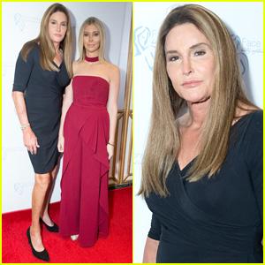 Caitlyn Jenner Brings Sophia Hutchins to Face Forward's Gala