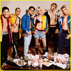 Cara Delevingne & The Guys of PRETTYMUCH Strip Down in New Puma Campaign!