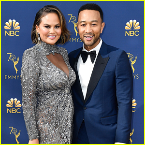 Chrissy Teigen Fires Back at Troll Who Asks If She's Pregnant Again at the Emmys 2018