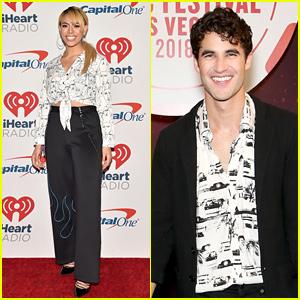 Darren Criss & Dinah Jane Join More Stars at iHeartRadio Music Festival!