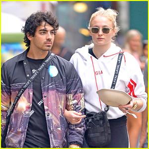 Joe Jonas & Sophie Turner Grab Lunch to Go in NYC