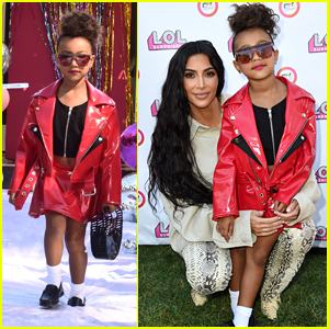 Kim Kardashian's Daughter North West Makes Runway Debut in L.O.L. Surprise Fashion Show!