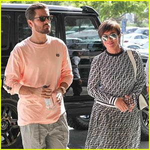 Kris Jenner & Scott Disick Team Up for Nordstrom Shopping Trip