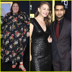 Kumail Nanjiani & Emily V. Gordon Couple Up at 'A Star Is Born' Premiere
