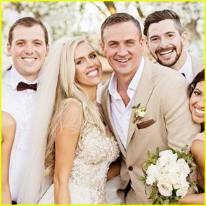 Ryan Lochte & Kayla Rae Reid Share Photos From Their Romantic Wedding Ceremony!