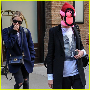 Cara Delevingne Makes Ashley Benson Laugh With Stuffed Monkey on Her Face!