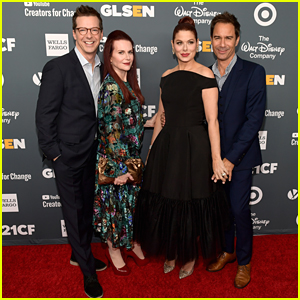 The Cast of 'Will & Grace' Step Out in Style for GLSEN Respect Awards!