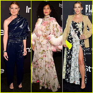 Ellen Pompeo, Tracee Ellis Ross, & Busy Philipps Make Fashion Statements at the InStyle Awards!