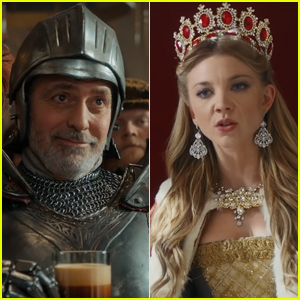 George Clooney & 'Game of Thrones' Star Natalie Dormer Join Forces for Nespresso Commercial - Watch!