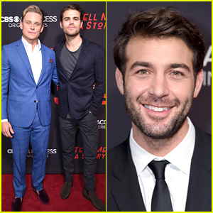 James Wolk, Paul Wesley, & Billy Magnussen Suit Up for 'Tell Me A Story' NYC Premiere
