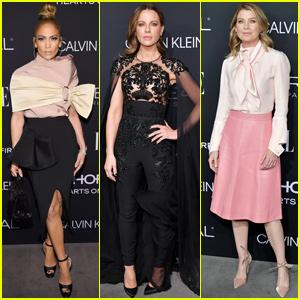 Jennifer Lopez, Kate Beckinsale & Ellen Pompeo Step Out For 'Elle' Women in Hollywood Celebration