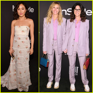 Julia Roberts & Constance Wu Get Honored at InStyle Awards!