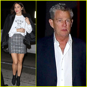 Katharine McPhee & Fiance David Foster Step Out for Date Night