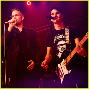 Darren Criss Performs With Justin Tratner at Beyond Spirit Day Concert