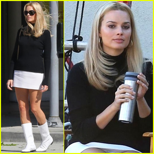 Margot Robbie Channels Sharon Tate While Filming 'Once Upon a Time in Hollywood'