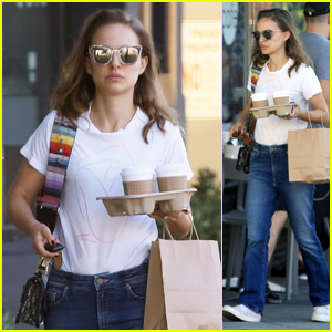 Natalie Portman Steps Out on a Coffee Run in Los Feliz
