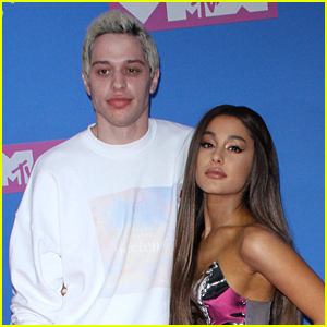 Pete Davidson Spoke About a Potential Ariana Grande Breakup on 'SNL' (Video)