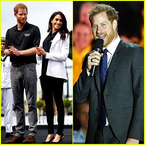 Prince Harry References Meghan Markle's Pregnancy at Invictus Games Opening!