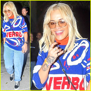 Rita Ora Jams Out to 'Let You Love Me' With Her Friends in Amsterdam