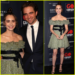 Robert Pattinson & Lily Collins Co-Host GO Campaign Gala 2018!