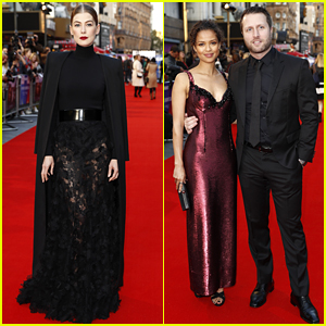 Rosamund Pike & Gugu Mbatha-Raw Stun at 'A Private War' UK Premiere!