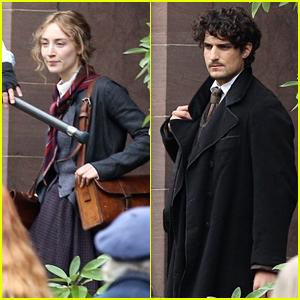 Saoirse Ronan Dresses as Jo March for 'Little Women' Scene