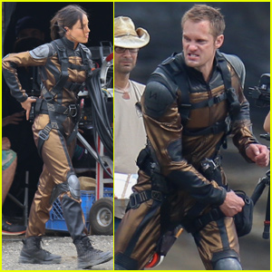 Alexander Skarsgard Packs a Punch While Filming 'Godzilla vs. Kong' With Eiza Gonzalez