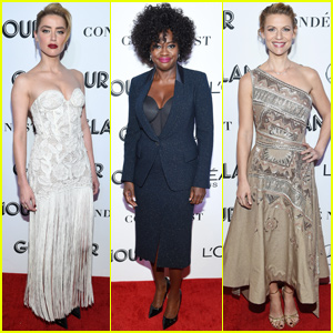Amber Heard & Claire Danes Honor Viola Davis at Glamour Women of the Year Awards