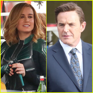 Brie Larson Begins Reshoots for 'Captain Marvel' Alongside Clark Gregg