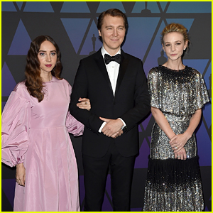Zoe Kazan, Paul Dano & Carey Mulligan Attend Governors Awards 2018