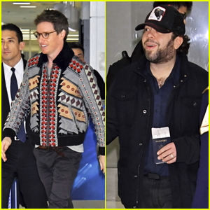 'Fantastic Beasts' Co-Stars Eddie Redmayne & Dan Fogler Greet Fans in Japan!