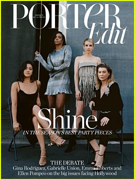 Ellen Pompeo, Gina Rodriguez, Emma Roberts & Gabrielle Union Get Candid About Fair Pay