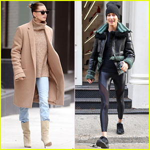 Hailey Baldwin Steps Out In Two Very Different Styles After Changing Instagram Handle