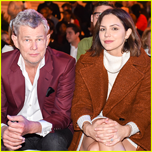 Katharine McPhee Joins Fiance David Foster at The Grove's Christmas Tree Lighting