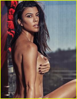 Kourtney Kardashian Sizzles in Nude Shoot for V Magazine