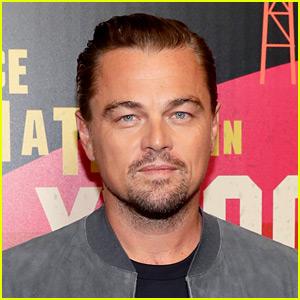 Leonardo DiCaprio Celebrates