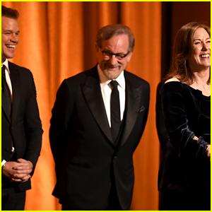 Matt Damon & Steven Spielberg Help Honor Kathleen Kennedy at Governors Awards 2018