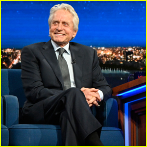 Michael Douglas Says His Hollywood Walk of Fame Honor Was for Father Kirk Douglas!