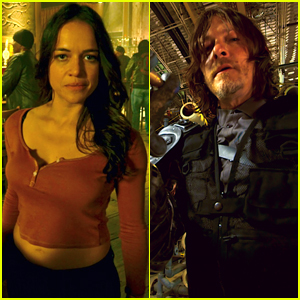 Michelle Rodriguez & Norman Reedus Take Viewers on VR Journey in 'The Limit' Trailer - Watch Now!