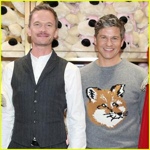 Neil Patrick Harris & Husband David Burtka Couple Up for FAO Schwarz's New Store Opening!