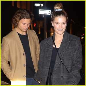 Nina Agdal & Boyfriend Jack Brinkley-Cook Step Out for Date Night in NYC!