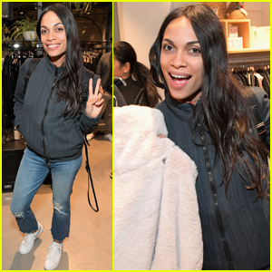 Rosario Dawson Helps Launch 'Nevereven' at Fred Segal Sunset