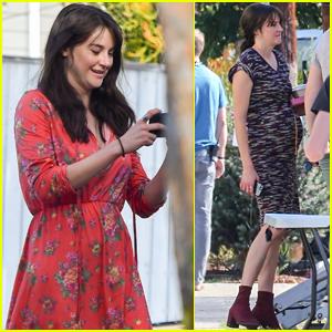 Shailene Woodley Gets Best Birthday Surprise From Co-Star Sebastian Stan! (Video)