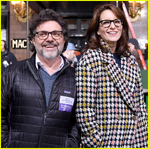Tina Fey Supports 'Mean Girls' Cast at Macy's Thanksgiving Day Parade Rehearsal!