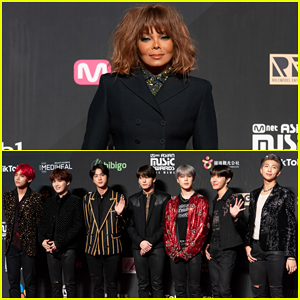 BTS Help Honor Janet Jackson with Inspiration Award at Mnet Asian Music Awards!
