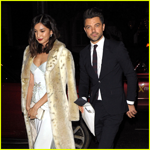 Dominic Cooper & Gemma Chan Head Out After Fashion Awards 2018 After Party!